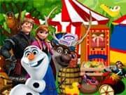Elsa Frozen en el Circo