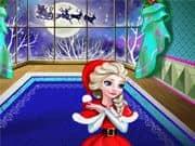 Elsa Frozen Navidad en Casa