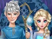 Elsa Frozen y su Novio Jack Frost