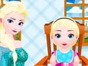 Elsa Queen Nurse Baby