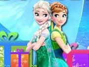 Elsa y Anna Frozen columnas de Regalos