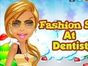 Fashion Star at Dentist