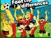 Futbol Copa en Encuentra Diferencias