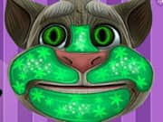 Gato Talking Tom Maquillaje a la Moda