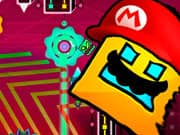 Juego Super Mario Geometry Dash
