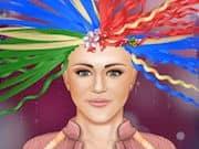 Hannah Montana en la Peluquería de Famosos