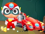 Juego de Happy SuperMan Car Transformers