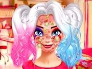 Harley Quinn: Maquillaje con Facial