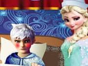 La Princesa Elsa Frozen de Enfermera