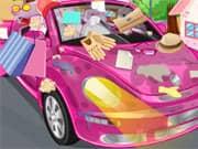 Limpiar mi Carro Rosado