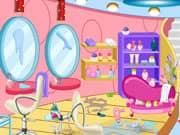 Limpieza del Salon de Belleza