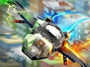 Los Vengadores Lego en el Aire