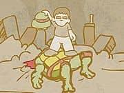 Luis vs Ninja Turtle