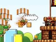 Mario Bros Protegiendo el Castillo