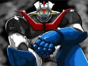 Mazinger Z contra el Robot Erizo