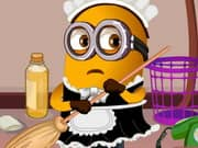 Juego Minions Clean Room
