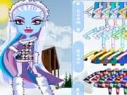 Juego Monster High Chibi Abbey Dress Up