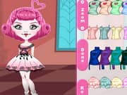 Monster High Chibi C a Cupid Dress Up