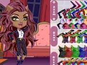 Monster High Chibi Clawdeen Wolf Dress Up