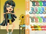 Juego de Monster High Chibi Cleo De Nile Dress Up