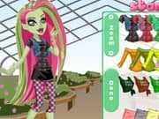 Juego Monster High Venus Mcflytrap Dress Up