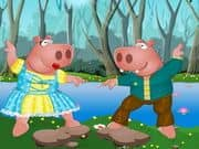 Juego Mr and Mrs Hippo Dress Up