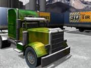 Parqueo Camion de Remolque en 3D