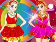 Perfect Sister Valentine Dressup