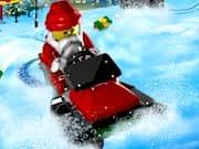 Persecucion de Invierno en Ciudad Lego