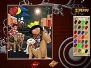 Pinta a Dora y Diego