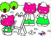 Pintar a Hello Kitty