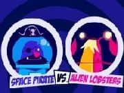 Piratas Espaciales vs Langostas Aliens