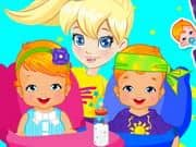 Juego Polly Twins Babysitter