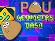 Pou Geometry Dash