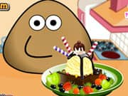 Juego de Pou Ice Cream Decoration