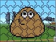Pou Minecraft Puzzle