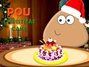 Pou Pastel de Navidad