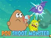 Juego Pou Shoot Monster