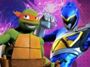 Juego Power Rangers vs Tortugas Ninja