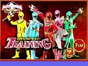 Power Rangers Entrenamiento de Combate