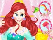 Princesa Ariel Estilo de Cabello para su Boda