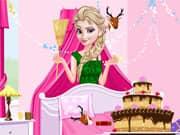 Princesa Elsa Frozen Limpieza de Cumpleaños