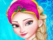 Princesa Elsa Frozen Maquillaje para Navidad