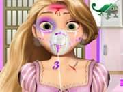 Princesa Rapunzel Lesiones en la Cabeza
