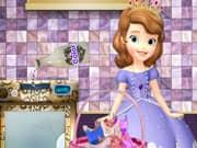 Princesa Sofia Lavando sus Vestidos