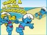 Puzzle Pitufos en la Playa