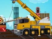 Juego Railroad Crane Parking
