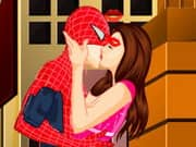 Juego Spiderman Kissing