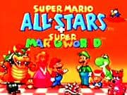 Juego de Super Mario All Stars + Super Mario World