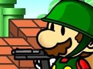 Super Mario vs Zombie Defense